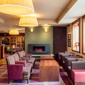 Metropole Hotel Bar Area