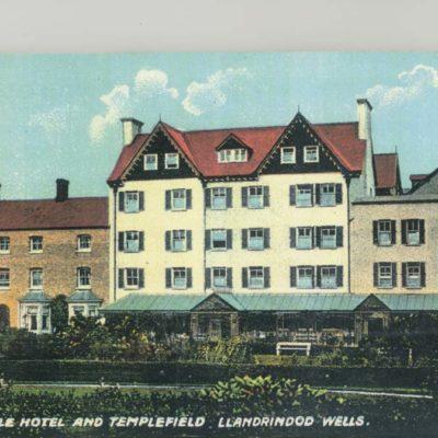 Metropole Hotel Vintage Postcard