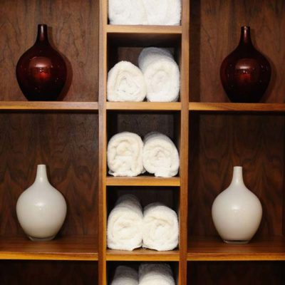 Metropole Hotel Spa Towels and Vases