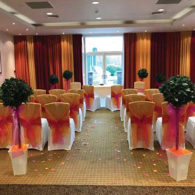 Metropole Hotel Wedding Seating Arrangement