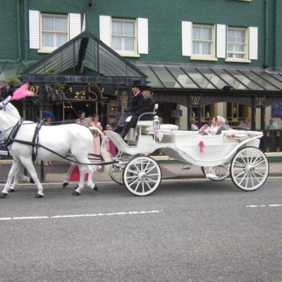 Metropole Hotel Horses and Carriage