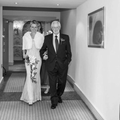 Metropole Hotel Bride and Father
